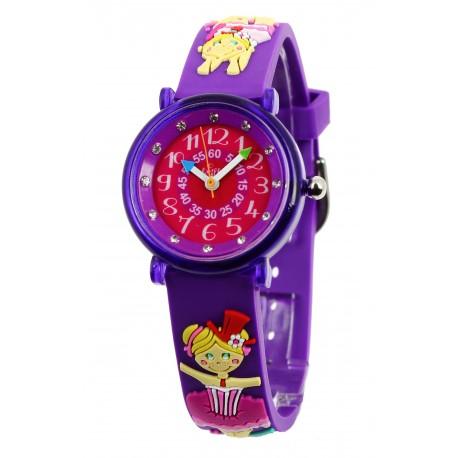 montres pour filles de 6 9 ans r veils filles 2 montres pour enfants. Black Bedroom Furniture Sets. Home Design Ideas