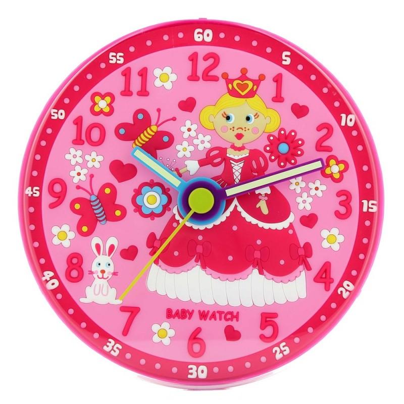 princesse horloge murale montres pour enfants. Black Bedroom Furniture Sets. Home Design Ideas